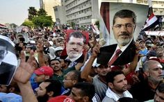 Supporters of Egypt's ousted president Mohammed Morsi called for a million-man march on Sunday night, the 27th night of the Islamic fasting month of Ramadan .