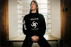Not saying he isn't talented--that would be a lie. But as a human being, he is a traitor, in that he killed his bandmate and friend for years, then went to prison and began spreading the massage of neo-nazism. Black Metal, Metal Bands, Rock Bands, Metal Meme, Children Of Bodom, Chaos Lord, Extreme Metal, Boys Long Hairstyles, Metalhead