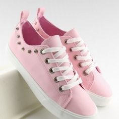 Ružové dámske tramky s hrubšou podrážkou bielej farby2 Designer Shoes, Modern Design, Baby Shoes, Converse, Sneakers, Model, 3, Clothes, Anna