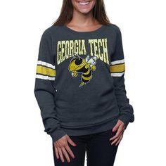 Georgia Tech Slouchy Pullover Sweatshirt