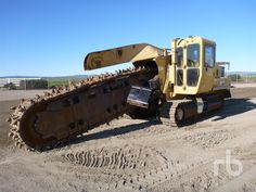 VERMEER T955TR RIDE ON CRAWLER CHAIN RIDE ON CRAWLER CHAIN Trencher