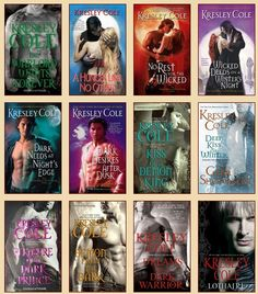 Immortals After Dark series by Kresley Cole!