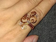 Wire Jewelry Lessons - DIY - handmade jewelry tutorials - How to make Wa...