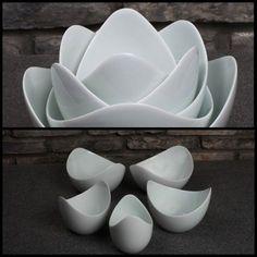 Lotus Bowls from Spin Ceramics