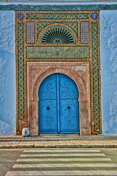 Tunisia ☯☮ॐ Lucas Lima ☯☮ॐ Sidi Bou Said, Carthage Tunisia, Islamic Architecture, Beautiful Architecture, World Photography, Africa Travel, Morocco Travel, North Africa, Islamic Art