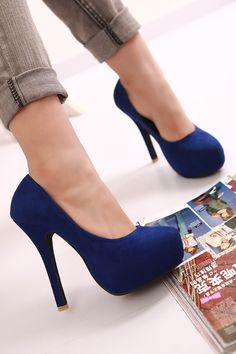 I absolutely hate this kind of shoes! I had a pair I could hardly walk in them. It was not how high they were it was the plat form. I see nobody wear them but all the stores and magazines have them....can't wait for them to go out of fashion. Phhhhtttt. never thought I would hate a shoe
