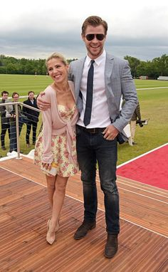 Chris Hemsworth with Elsa Pataky | GossipCenter - Entertainment News Leaders