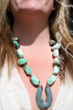 The Lucky Stoned Necklace $225 http://shelbilavender.com/necklaces-2/6979493069_479543b032_z-2/ Direct Link