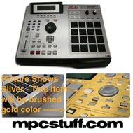 Akai MPC 2000XL Gold Faceplate Skin - Brushed Gold | Home
