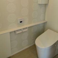 Bathroom/アクセントクロス/トイレ収納/マイホーム/サンゲツ/ネオレスト...などのインテリア実例 - 2017-01-25 09:26:53