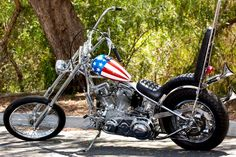 The Captain America Easy Rider bike is going to auction in October of 2014 and is expected to fetch over one million dollars.
