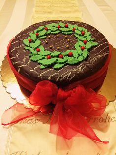 Christmas cake design🎄🎀