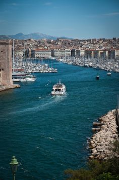 Le Port de Marseille, France | by Galdric Pons Flickr