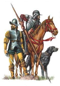Conquistadores zijn gelukszoekers