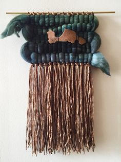 woven wall hanging weaving by gather handwoven