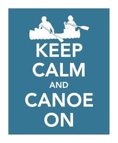 Canoe on :)