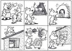 The three little pigs - De drie biggetjes