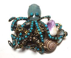 iradj moini jewelry | Iradj Moini Octopus Pin | Jewelry