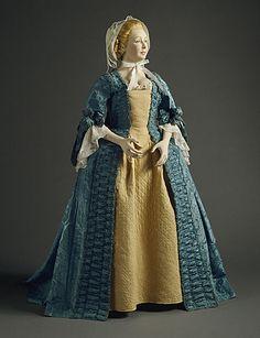 dress ca. 1770s via The Los Angeles County Museum of Art