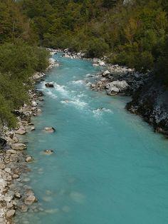 Slovenia Landscape | Soča River, Slovenia