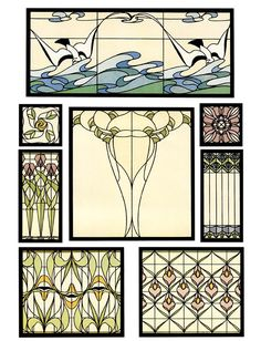 Perfect For Stained Glass Windows from Dover Publications