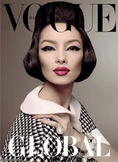 Vogue Italia January 2013 - Fei Fei Sun (Photographed by Steven Meisel)