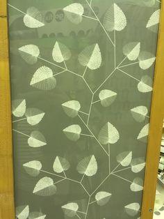 Pretty patterned wallpaper