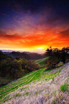 Mount Diablo Sunset