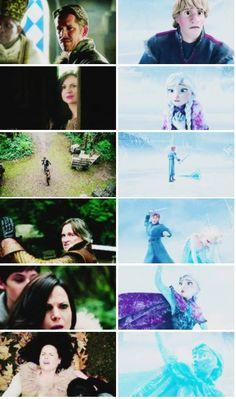 :'( #Frozen #OnceUponATime