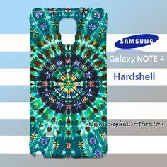 Peacockthrone Mandala Samsung Galaxy Note 4 Case Cover