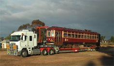 A selection of carriages that have been moved over the years Company in Australia that moves train carriages and has a few for sale on their site at times. Over The Years, New Zealand, Tiny House, Photo Galleries, Country Roads, Trucks, Train, Gallery, House Ideas
