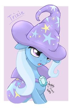 MLP FIM - The Great and Powerful Trixie