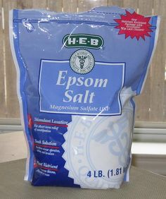 I usually put epsom salts in my baths, but here's a super easy way to get epsom salt in your favorite lotion!