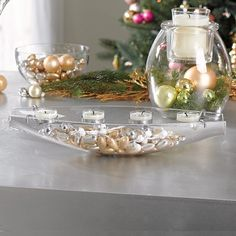 klassisch elegant - Clearly Creative Teelichthalter Elegance