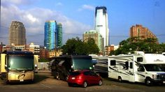 """""""Think you can't visit a city in your RV? Think again."""" http://www.doityourselfrv.com/urban-camping/"""