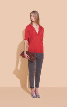 Rachel Comey - Short Sleeve Polo - Knits - Clothing - Women's Store