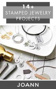 Whether you're searching for a charming handmade gift idea or are looking to commemorate a special date, JOANN's selection of 14+ Stamped Jewelry Projects is for you!