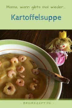 Kartoffelsuppe Rezept für Kinder