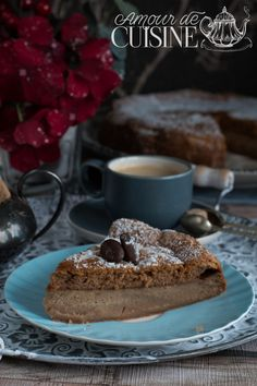 Gateau magique au café - par Amour de Cuisine Pain Aux Olives, Empanadas, French Toast, Cheesecake, Pie, Breakfast, Recipes, Healthy, Food