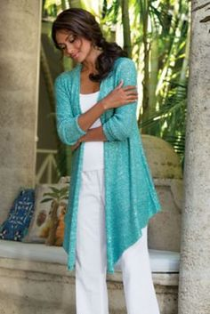 Shimmer Cardi from Soft Surroundings