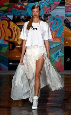 DKNY...Total white