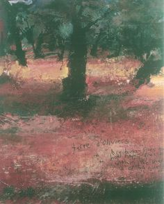 ... Two Trees/Five Senses/A World, is also provoked by paintings of trees: in her case of figs and olives, part of a series painted by Jackson in Kardamili, ...