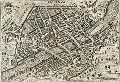 Firenze Cartina Centro Storico.54 Idee Su Antiche Mappe Di Firenze E Della Toscana Mappe Firenze Toscana