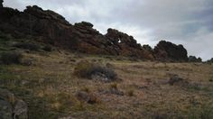 Hiking Devil's Backbone just west of Loveland, CO