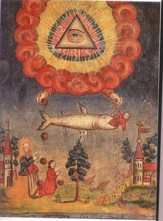 'Providence' , Folk art , Origins unknown, possibly Polish
