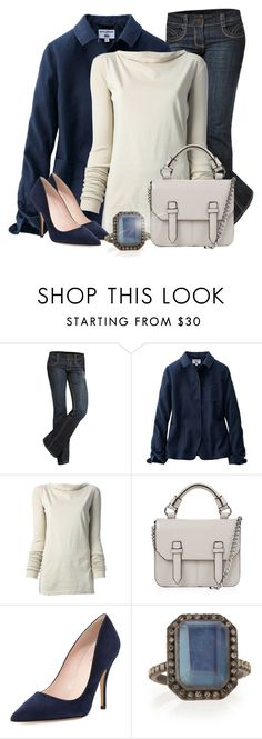"""""""Ring!"""" by eco-art ❤ liked on Polyvore featuring See Thru Soul, Uniqlo, DRKSHDW, Topshop, Kate Spade and Armenta"""