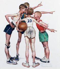 Norman Rockwell  ★ Find more at http://www.pinterest.com/competing/