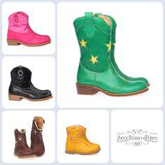 Zecchino d'Oro vinden wij elk seizoen weer terug tussen de populairste kinderschoenen merken. De westernlaarsjes zijn verkrijgbaar in allerlei kleuren en varianten, ze vrolijken alle winterse outfit op! Je vindt ze hier: http://www.kinderschoenen.nl/zecchino-doro