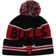 New Era Team Essential Cuff Beanie Chicago Bulls Schwarz