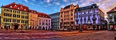 Stare Mesto by MiguelRosa on DeviantArt Bratislava, Old Town, Maine, Louvre, Deviantart, Building, Travel, Old City, Viajes